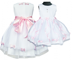 Tiulowa beautiful dress for the girl. Beata, baptism, year