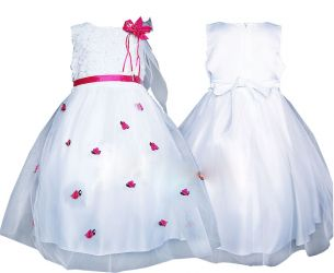 Dress for girl. Dress for baptism, dress for a year.