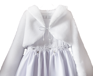 Bolero for communion, wedding. BEAUTIFUL BEAUTIFUL BOLEROUS WITH MISIA-FUTTER