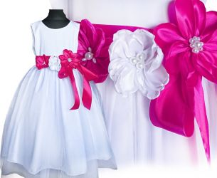 Beautiful tulle dress for girl. Cleo flowers