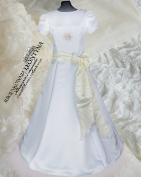 Beautiful dress, alba Communion- diamond application. Sizes 128-158 Communion 2018 No.3