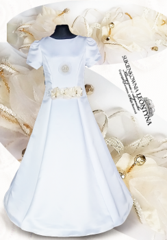 Beautiful dress, alba Communion- diamond application. Sizes 128-158 Communion 2018 No.5