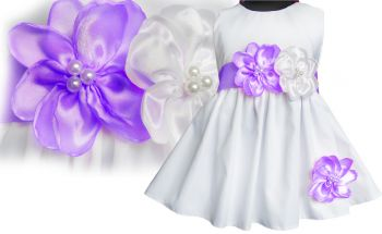 BEAUTY DRESS FOR BAPTISM