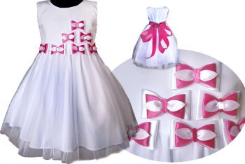 Beautiful ball dress. Bows. Sizes 56-164