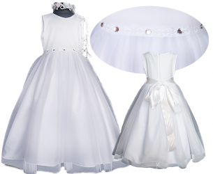 COMMUNION DRESS BEAUTIFUL DIAMOND , BAL