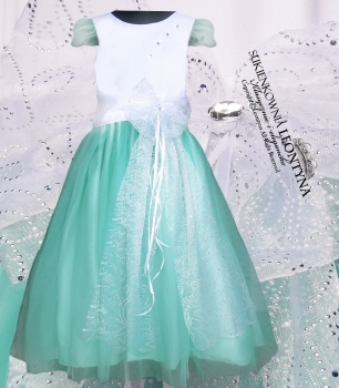 Lovely dress + FREE wedding baptism communion. COLORS 56-164